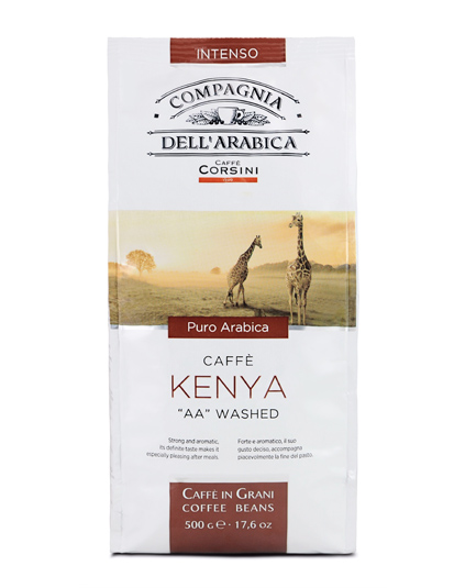 Кофе в зернах Compagnia Dell` Arabica Kenya AA Washed (500 г)
