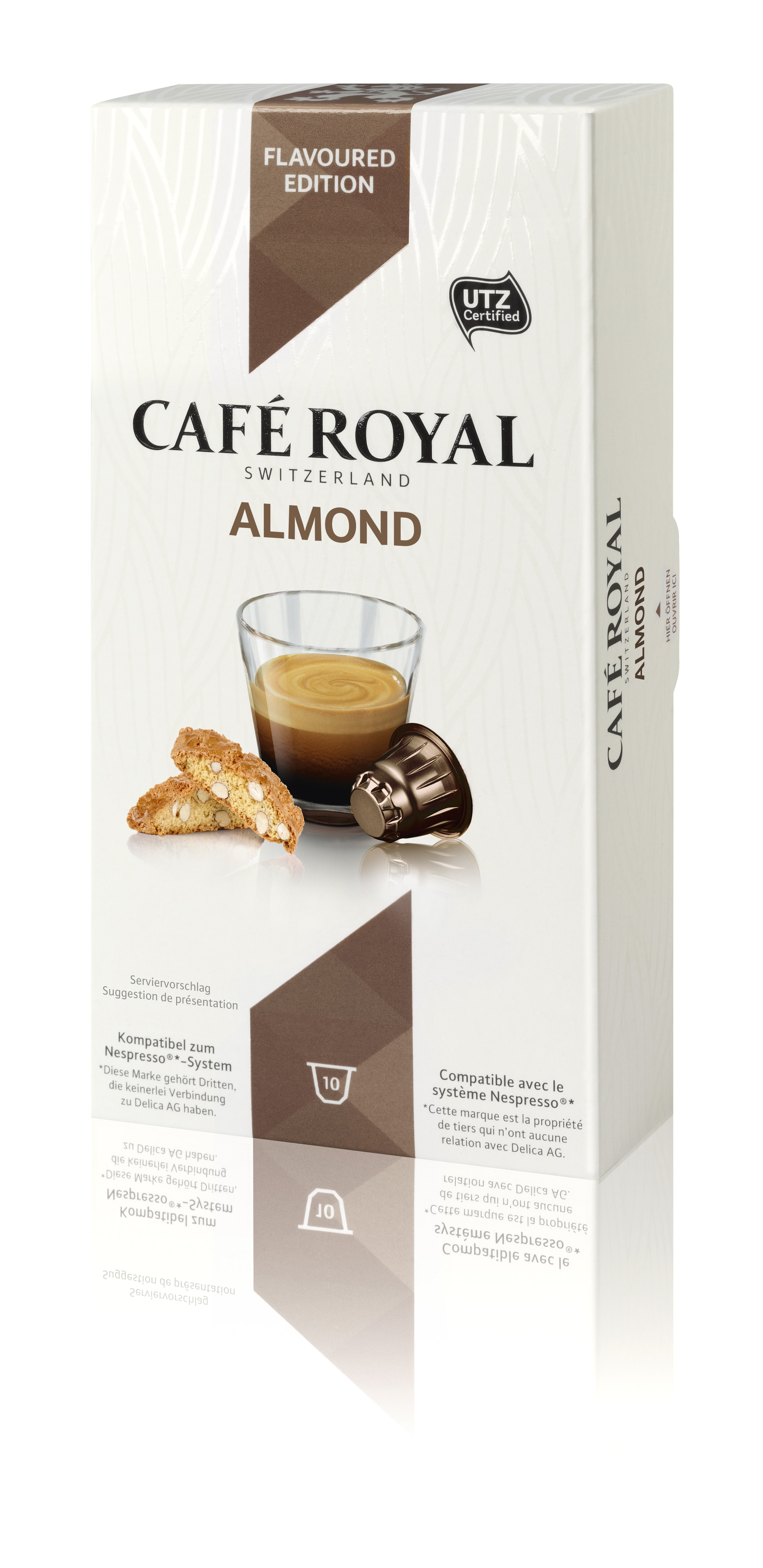 Капсулы для кофемашин Nespresso® Cafe Royal Almond