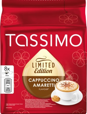 Кофе в капсулах Tassimo Jacobs Monarch Cappuccino Amaretto