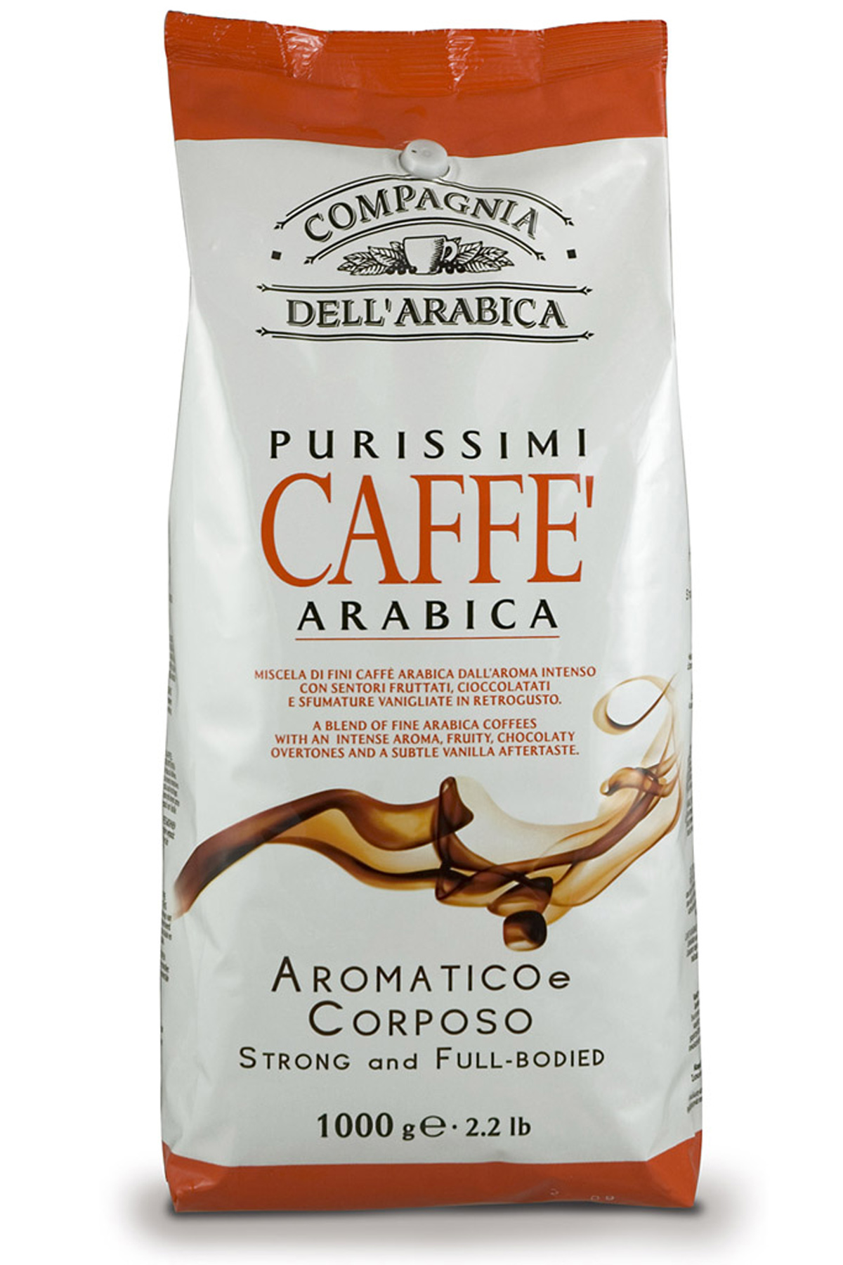 Кофе в зернах Compagnia Dell` Arabica Kenya AA Washed (1 кг)
