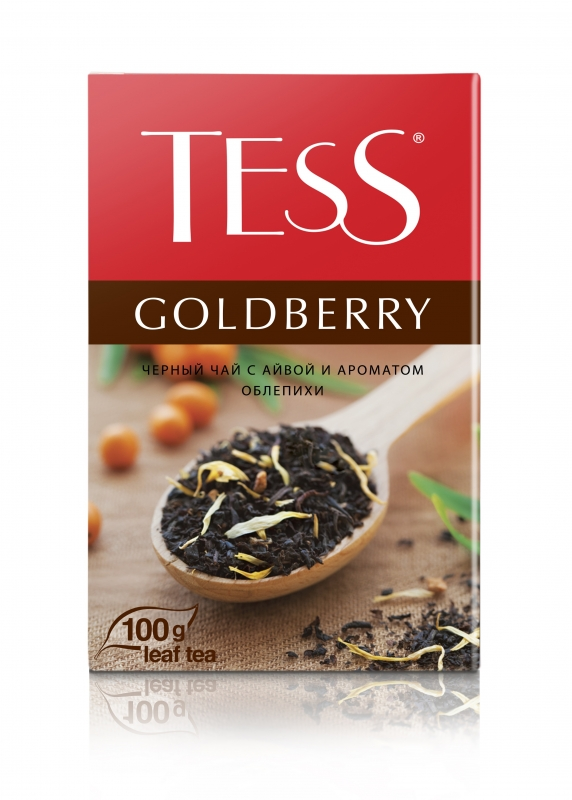 Чай черный Tess Goldberry, 100 г