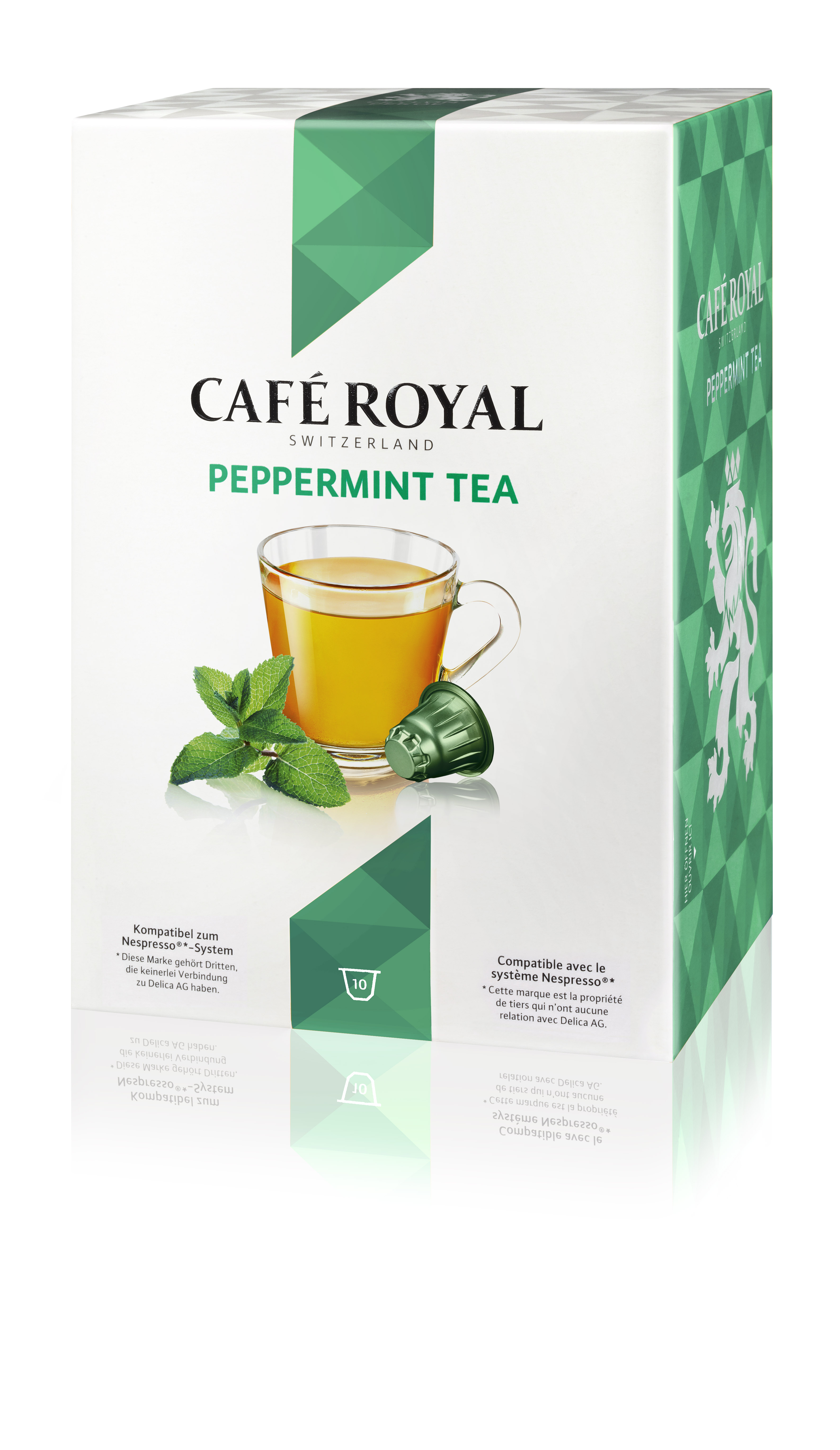 Капсулы для кофемашин Nespresso® Cafe Royal Peppermint
