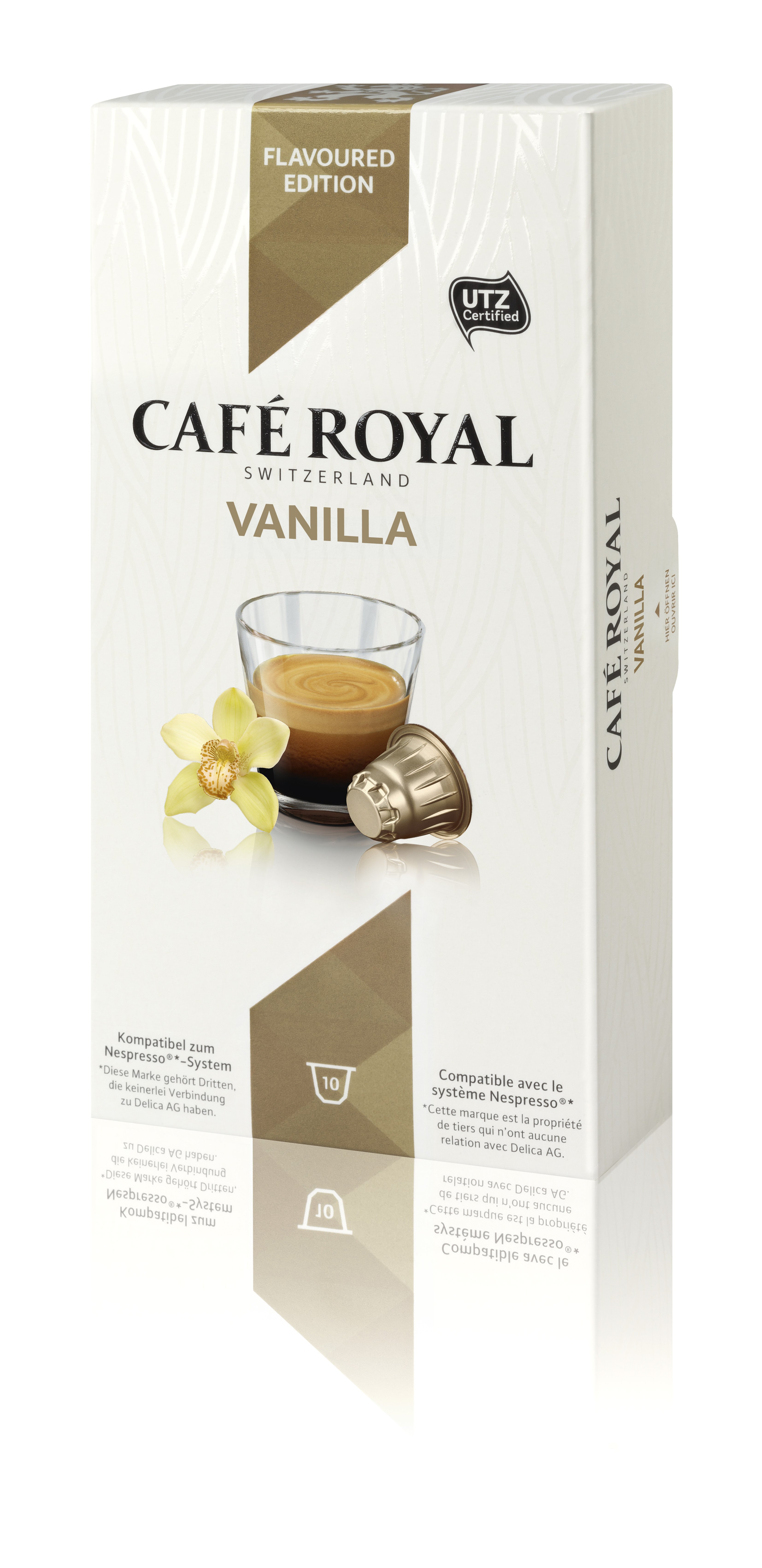 Капсулы для кофемашин Nespresso Cafe Royal Vanilla