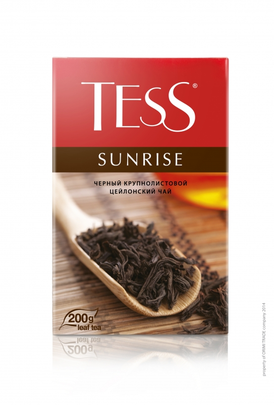 Чай черный Tess Sunrise, 200 г