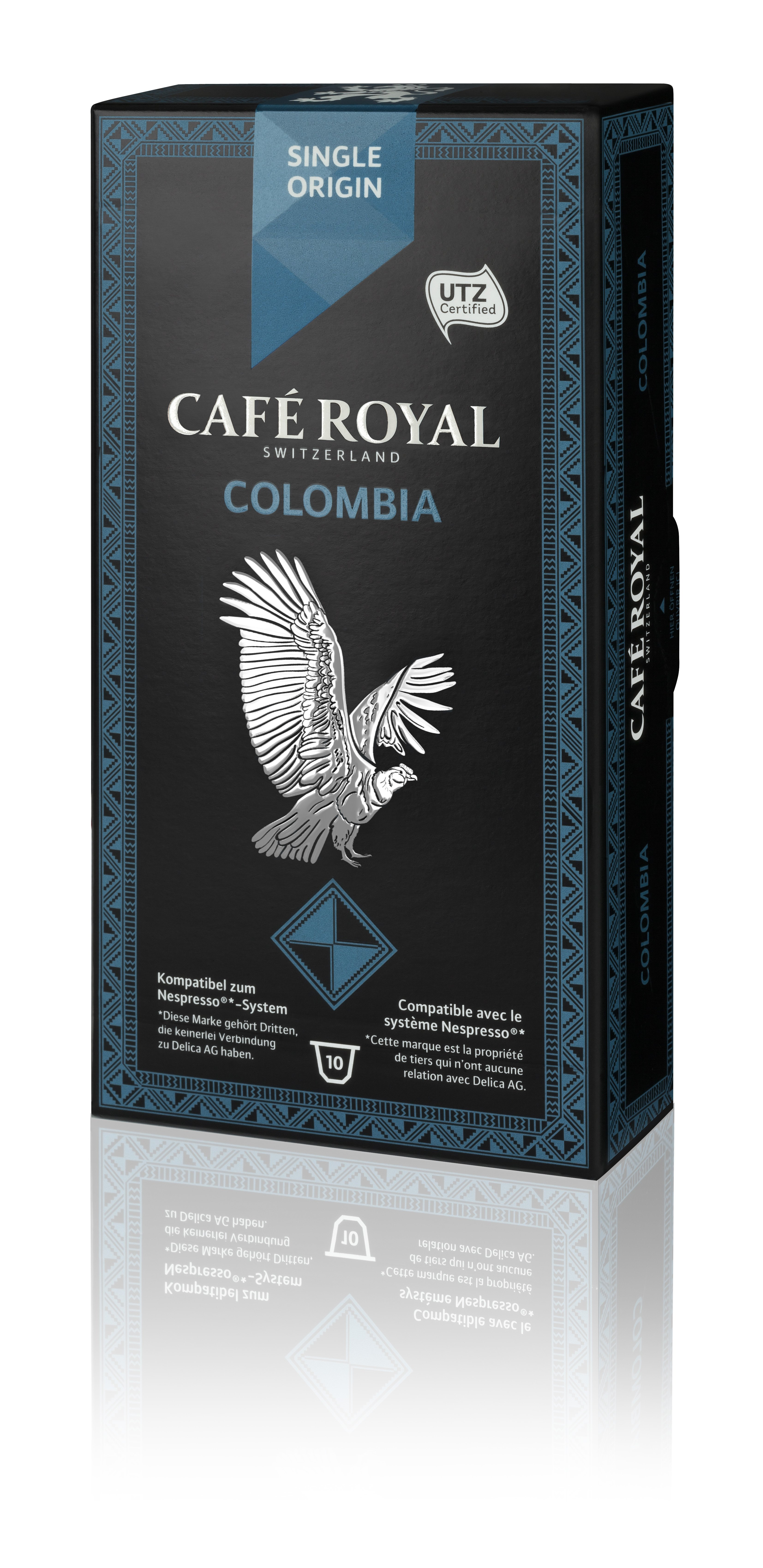 Капсулы для кофемашин Nespresso® Cafe Royal Colombia