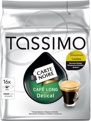 Кофе в капсулах Tassimo Carte Noire Cafe Long Delicat