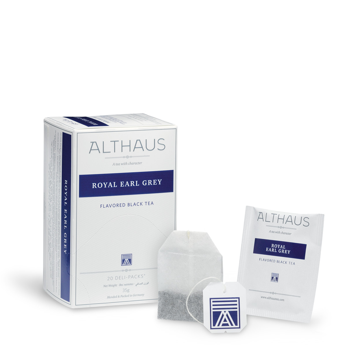 Чай черный Althaus Royal Earl Grey, 20 пак.