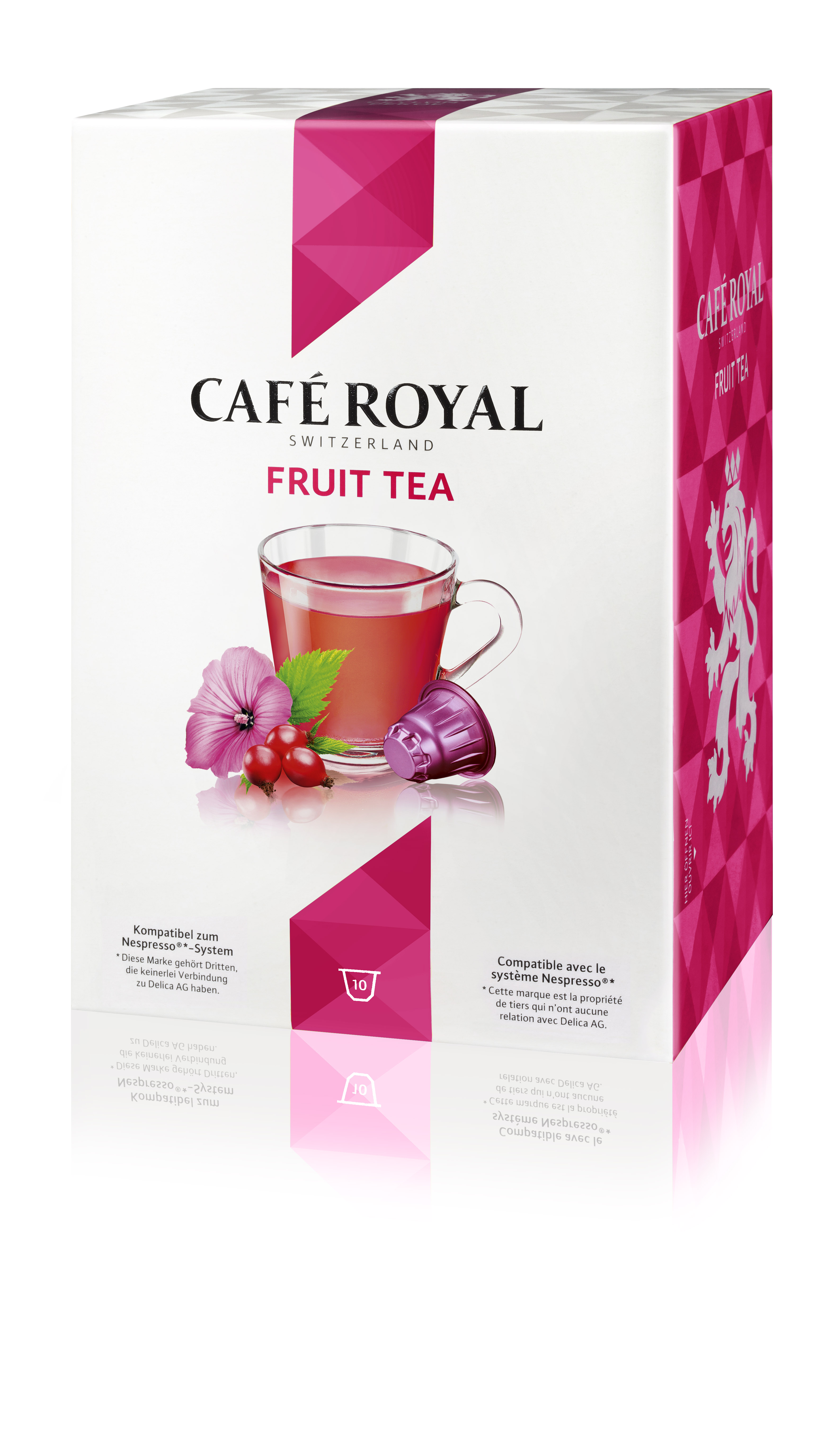 Капсулы для кофемашин Nespresso® Cafe Royal Fruit Tea