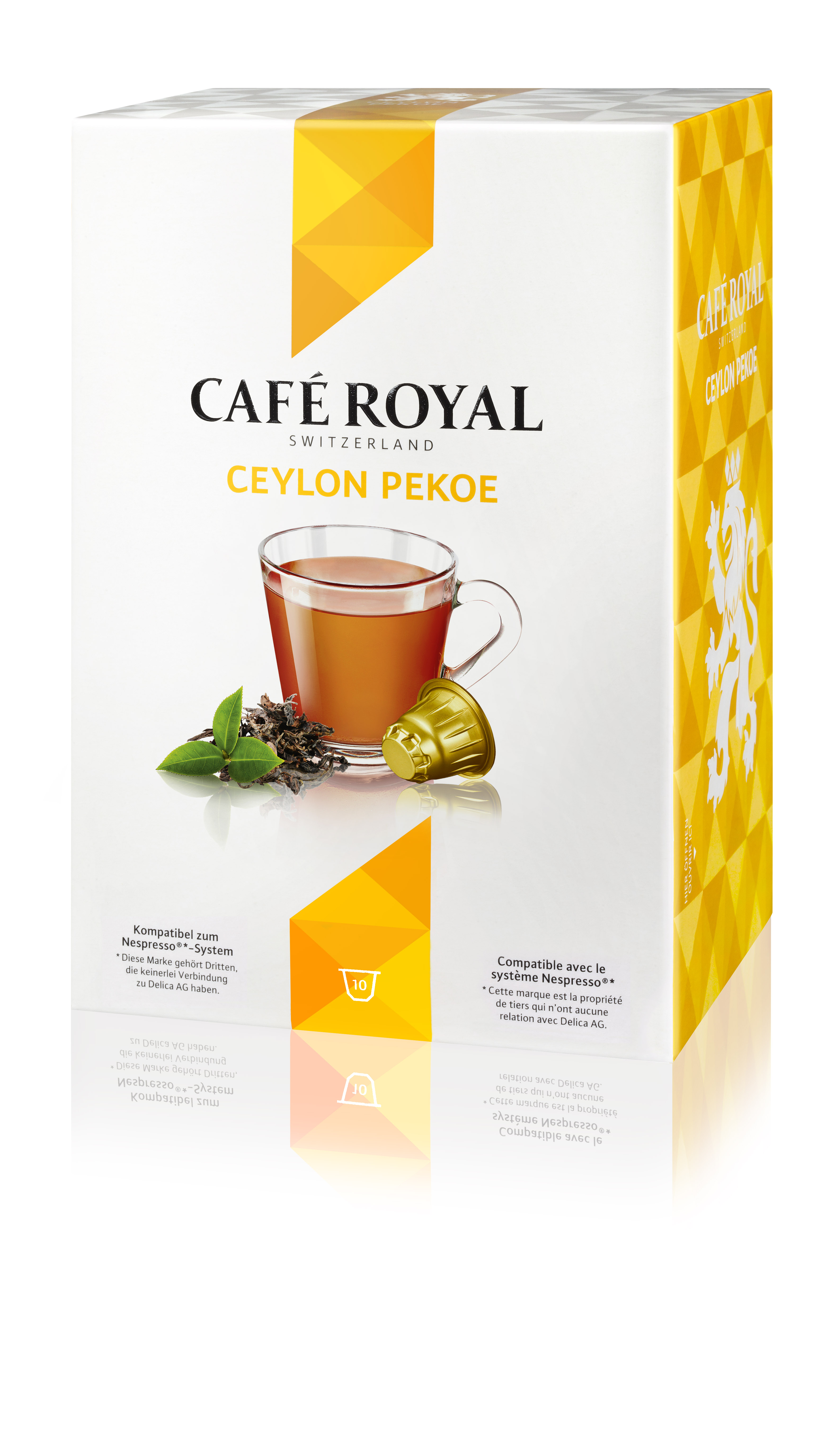 Капсулы для кофемашин Nespresso® Cafe Royal Ceylon Pekoe