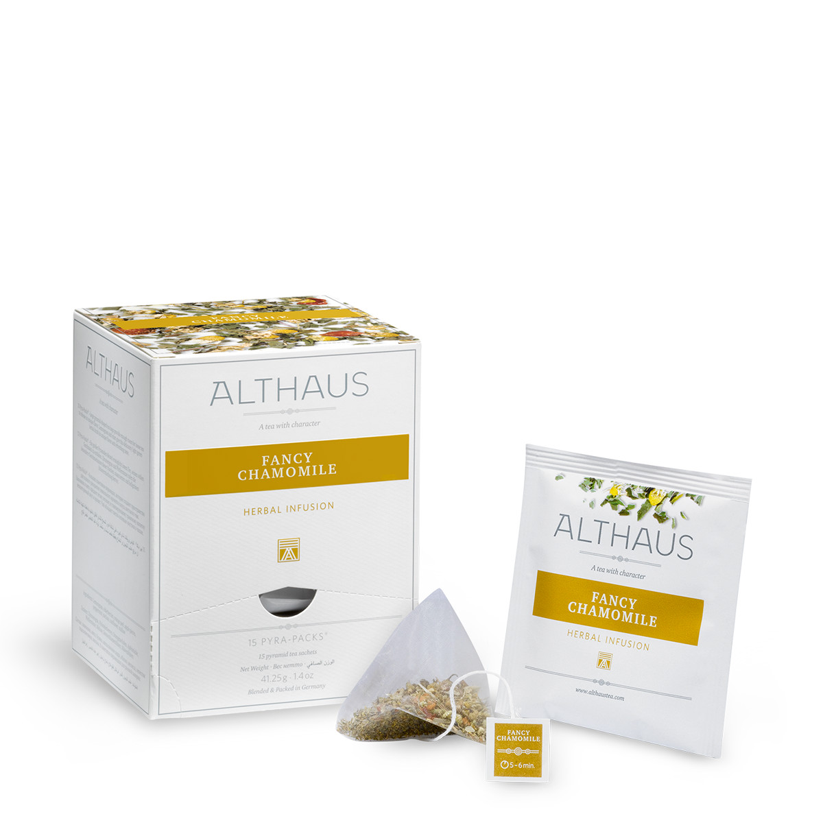 Чай травяной Althaus Fancy Chamomile, 15 пир.