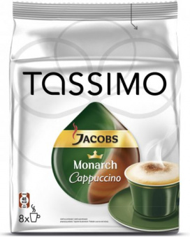 Кофе в капсулах Tassimo Jacobs Monarch Cappuccino